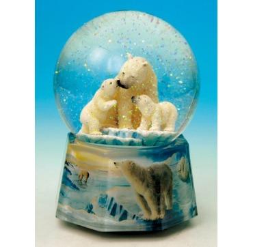 Spilledåse med Isbjørne