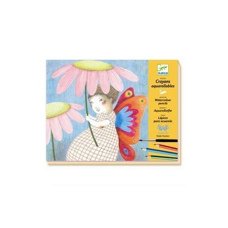 Akvarelfarveblyant workshop