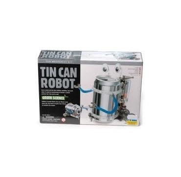 Dåse robot - Genbrug / Lyde / bevægelse