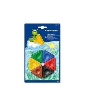 trekant farver 6 stk