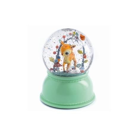 Snekugle med lys Bambi