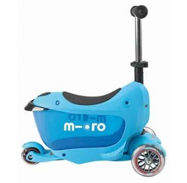 scooter og løbehjul i en