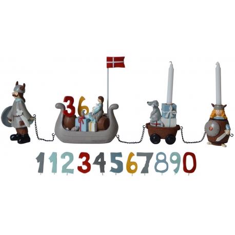 Fødselsdagstog - vikingeskib