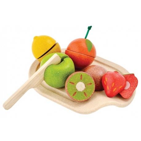 Blandet frugt sæt