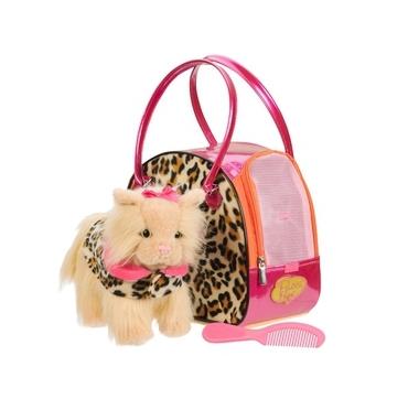 Sød kat i taske