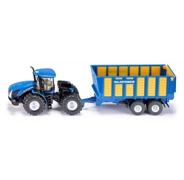Siku traktor med anhænger
