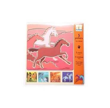 Skabeloner - tegn heste