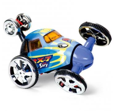 Sjov fjernstyret bil blå