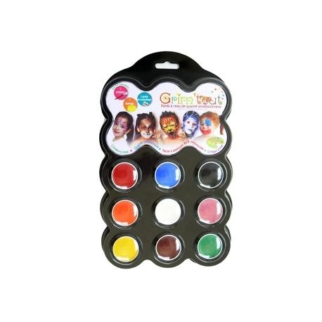 Ansigt maling 9 farver