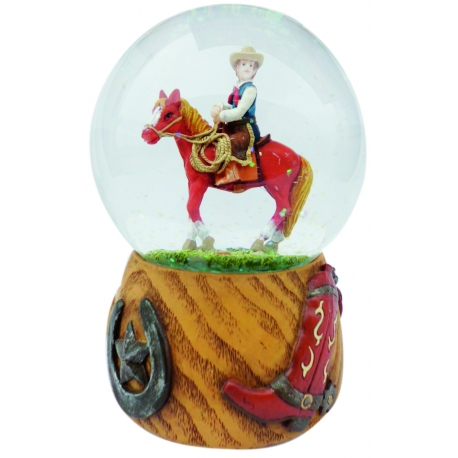 Hest glaskugle