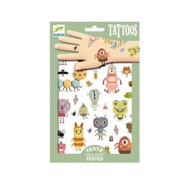 Tattoos med sjove dyr