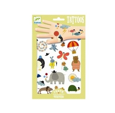Tattoos med søde Dyr