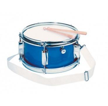 Tromme i metal blå