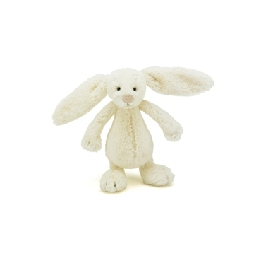 Jellycat hvid kanin 18 cm