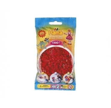 Hama perler rød