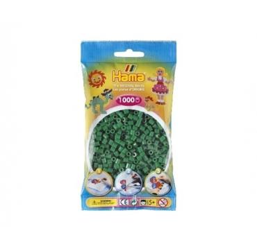 Hama perler Grøn