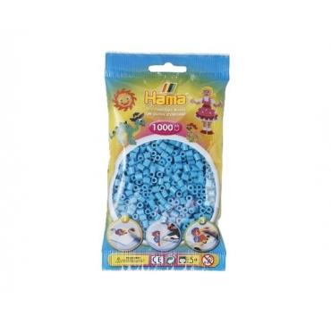 Hama perler 1000 turkis