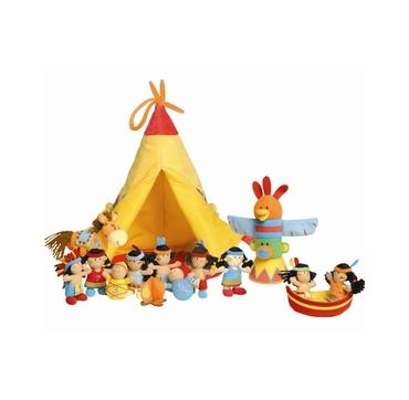 Lilliputiens Indianer telt