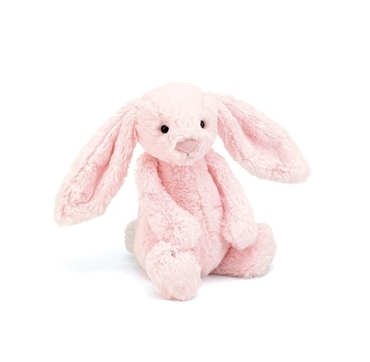 Jellycat lyserød Kanin