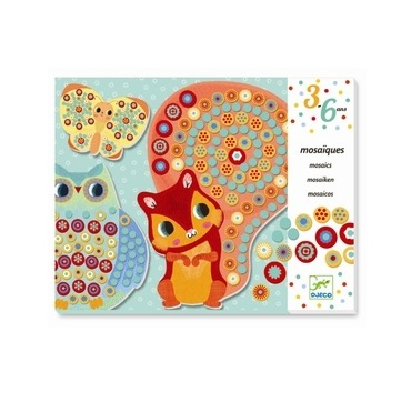 Djeco mosaik med dyr