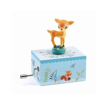 Djeco Håndspilledåse med Bambi