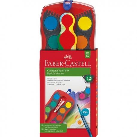 Faber- Castell vandfarver 12 stk