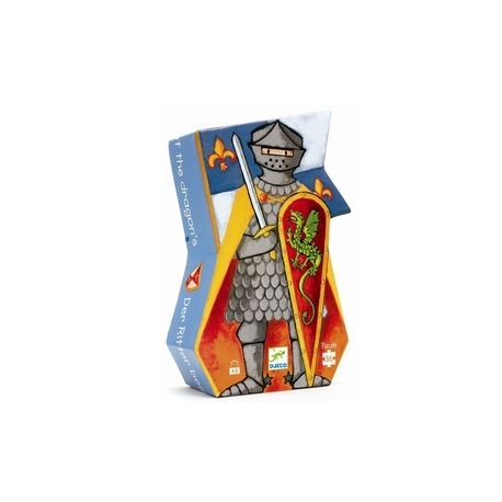 Djeco ridder puslespil