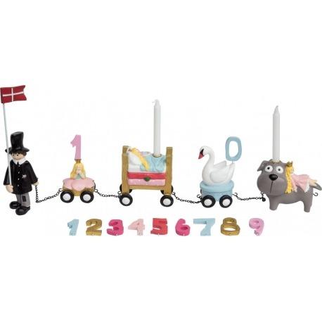 Fødselsdagstog H.C Andersen Pige