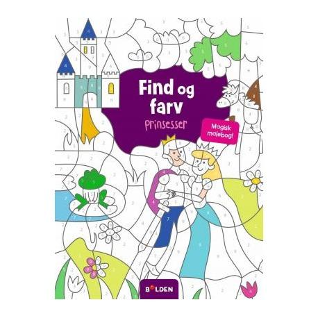 Find og farv - Prinsessser