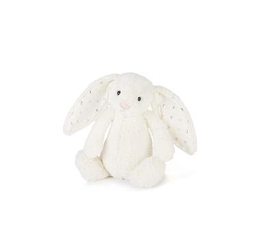 Jellycat kanin hvid med stjerner