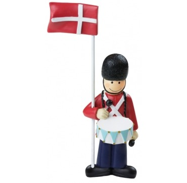 Kids by Friis Garder med Dannebrogsflag