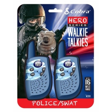 Walkie Talkies blå