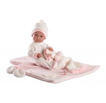 Loren baby pige dukke 63536