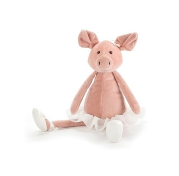 Jellycat gris med skjørt på
