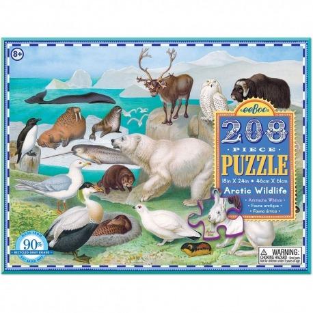 Puslespil med vilde dyr