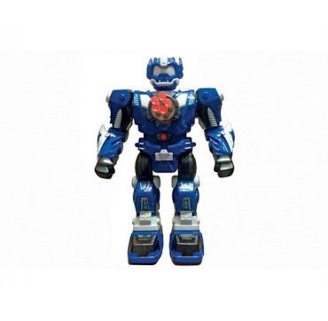 Flot stor robot blå