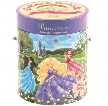 puslespil med prinsesser 63 brikker