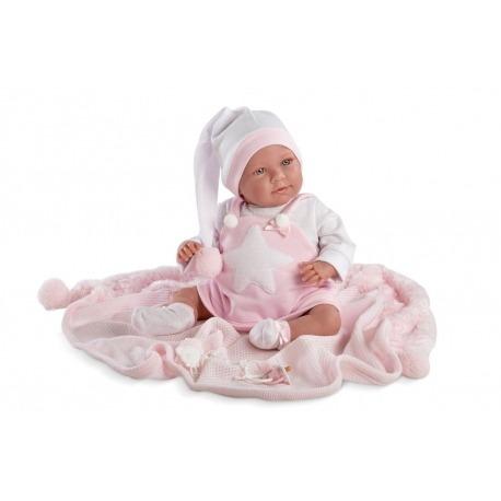 Loren baby pige dukke 74024