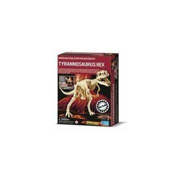 Tyrannosaurus velociraptor udgravning - dino/krestiv