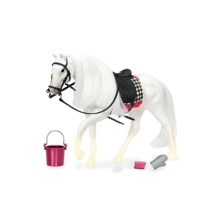 Lori hest hvid