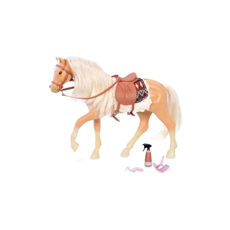 Lori hest lysebrun