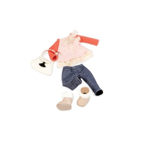 Lori tøj med cowboy bukser