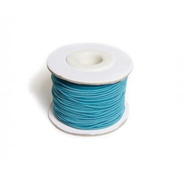 Turkis elastiksnor til perler