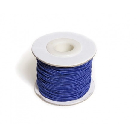 Blå elastiksnor