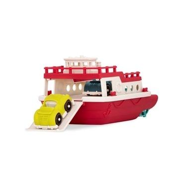 B-Toys båd med biler