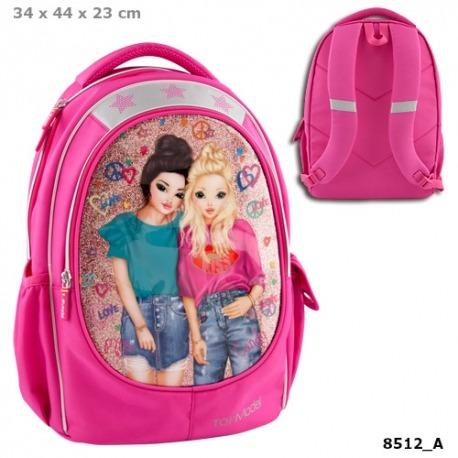 Topmodel skoletaske piger