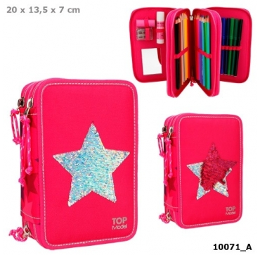 Topmodel penalhus pink stjerne