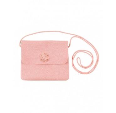 Rosa glimmer taske