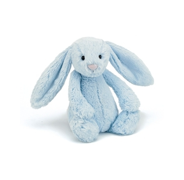 Jellycat lyseblå kanin
