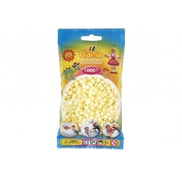 Hama perler cremehvide fareve 02
